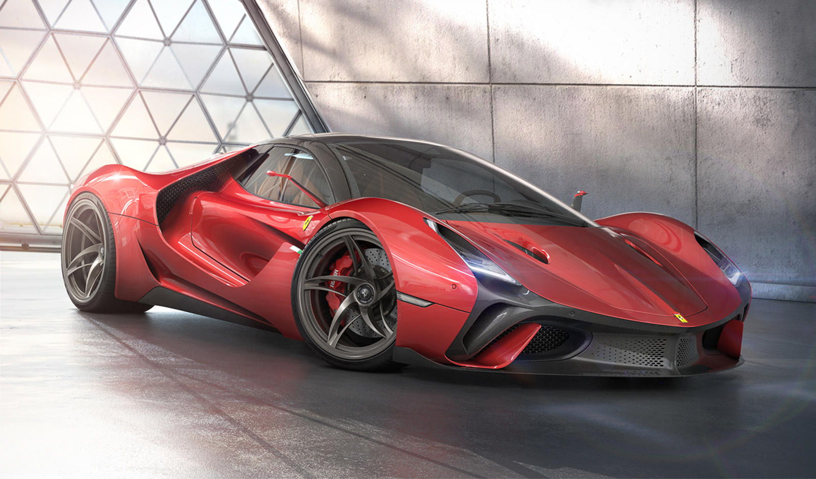 This Is What Ferrari S Next Flagship Hypercar Should Look Like Carbuzz