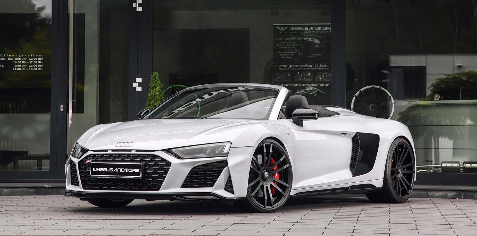 2021 Audi R8 V10 Spyder Speed Test