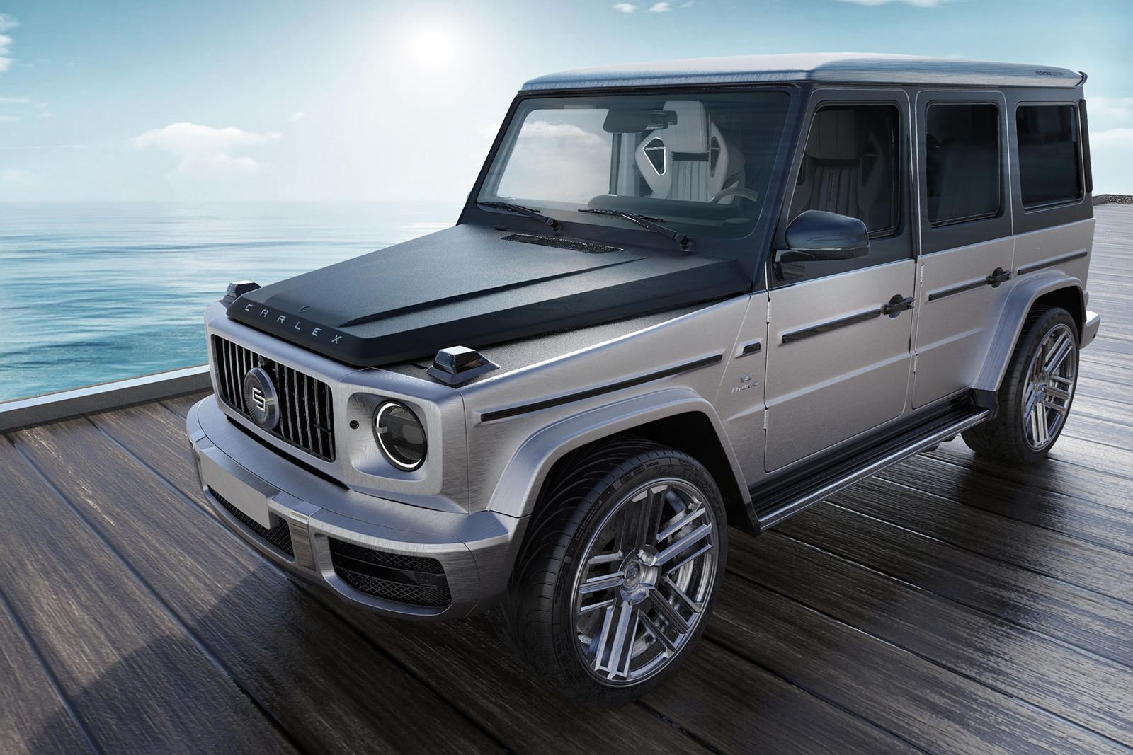 Mercedes Amg G63 Yachting Limited Edition Offers Insane Decadence Carbuzz
