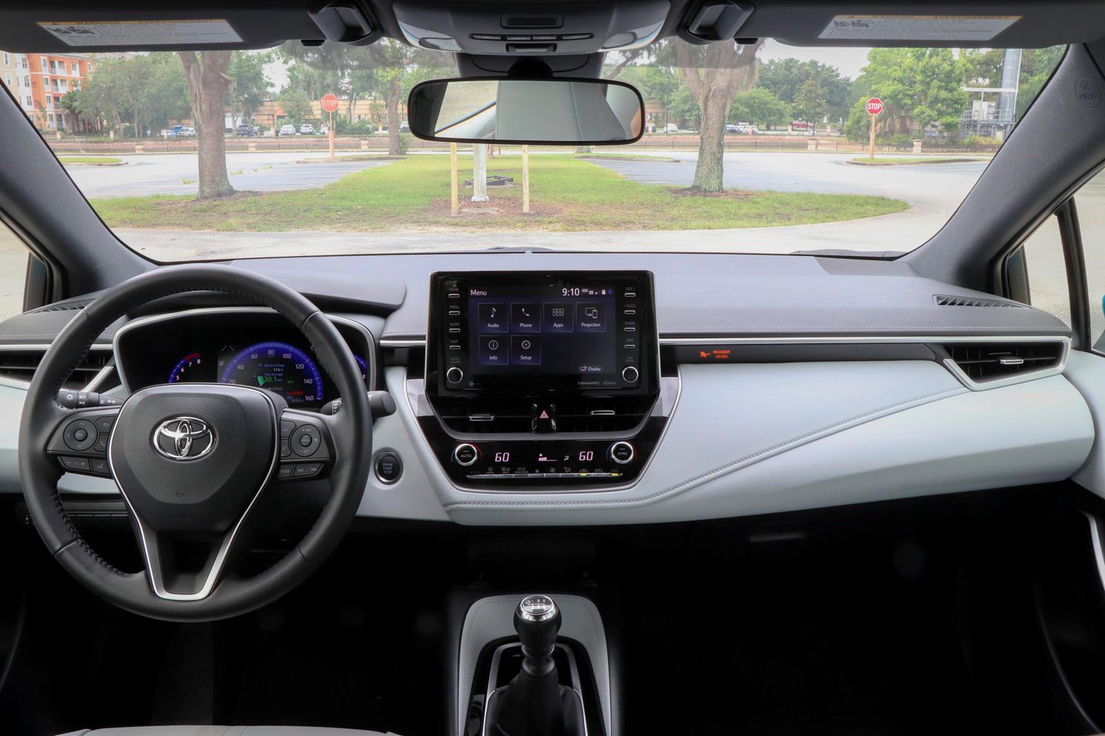 2019-2020 Toyota Corolla Hatchback Test Sürüşü Kontrol Paneli