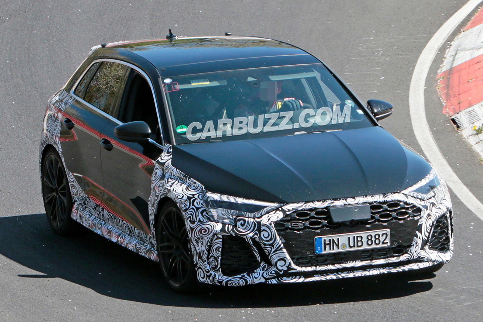 Spied! 2021 Audi RS3 Looks Ready To Fight Mercedes-AMG ...