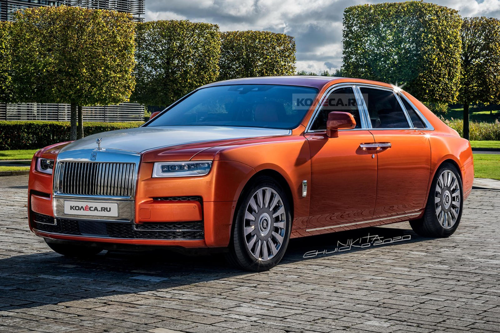 2021 Rolls Royce Ghost Will Look Exactly Like This Carbuzz