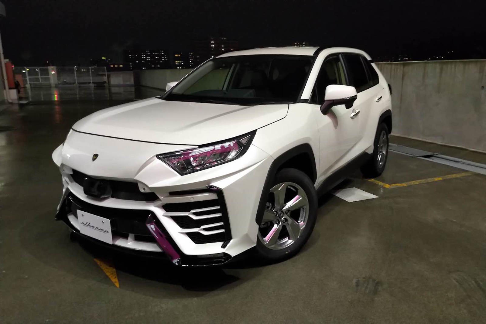 Toyota Rav4 Gets Brilliant Lamborghini Urus Body Kit Carbuzz