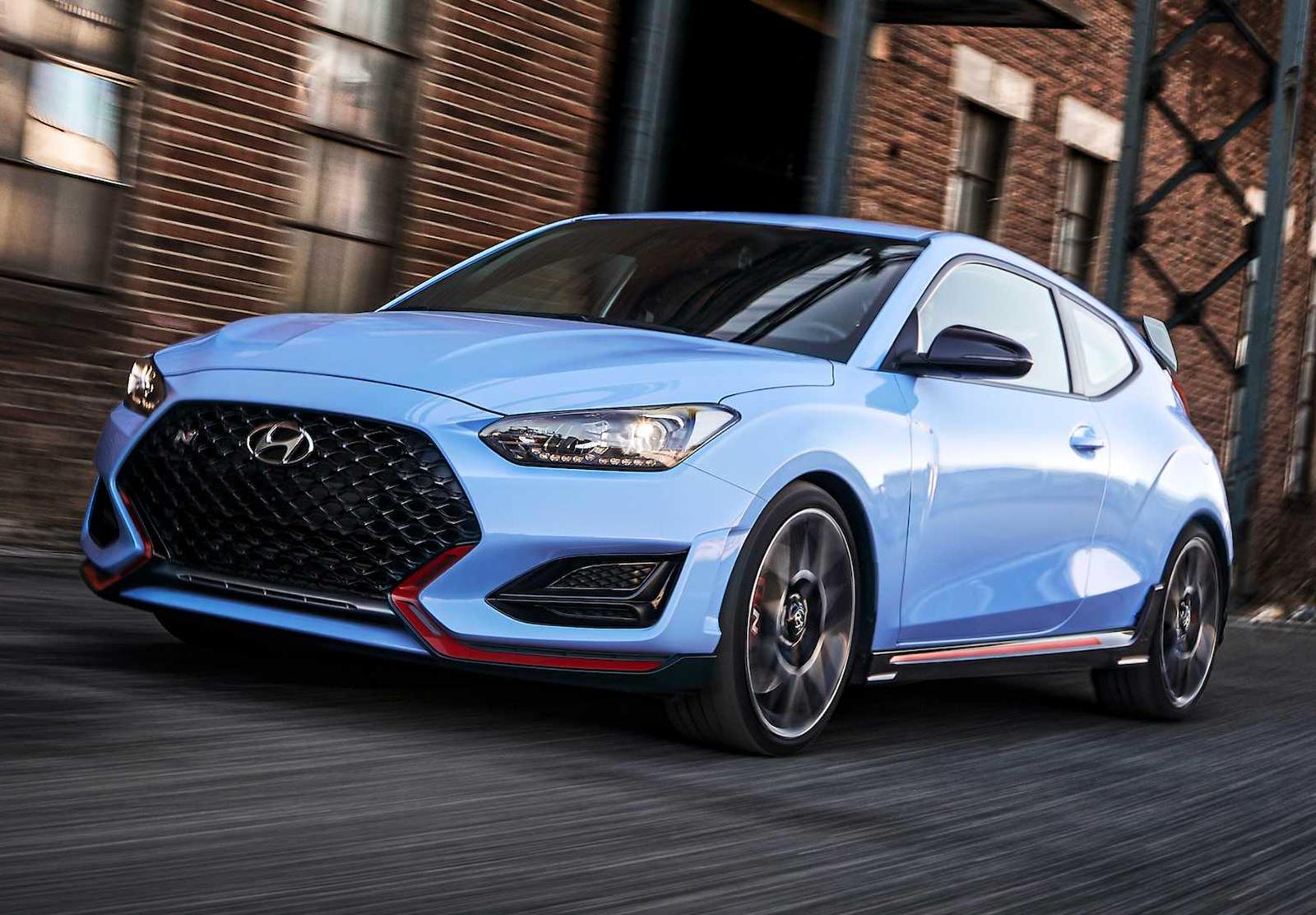 2021 Hyundai Veloster Spesification