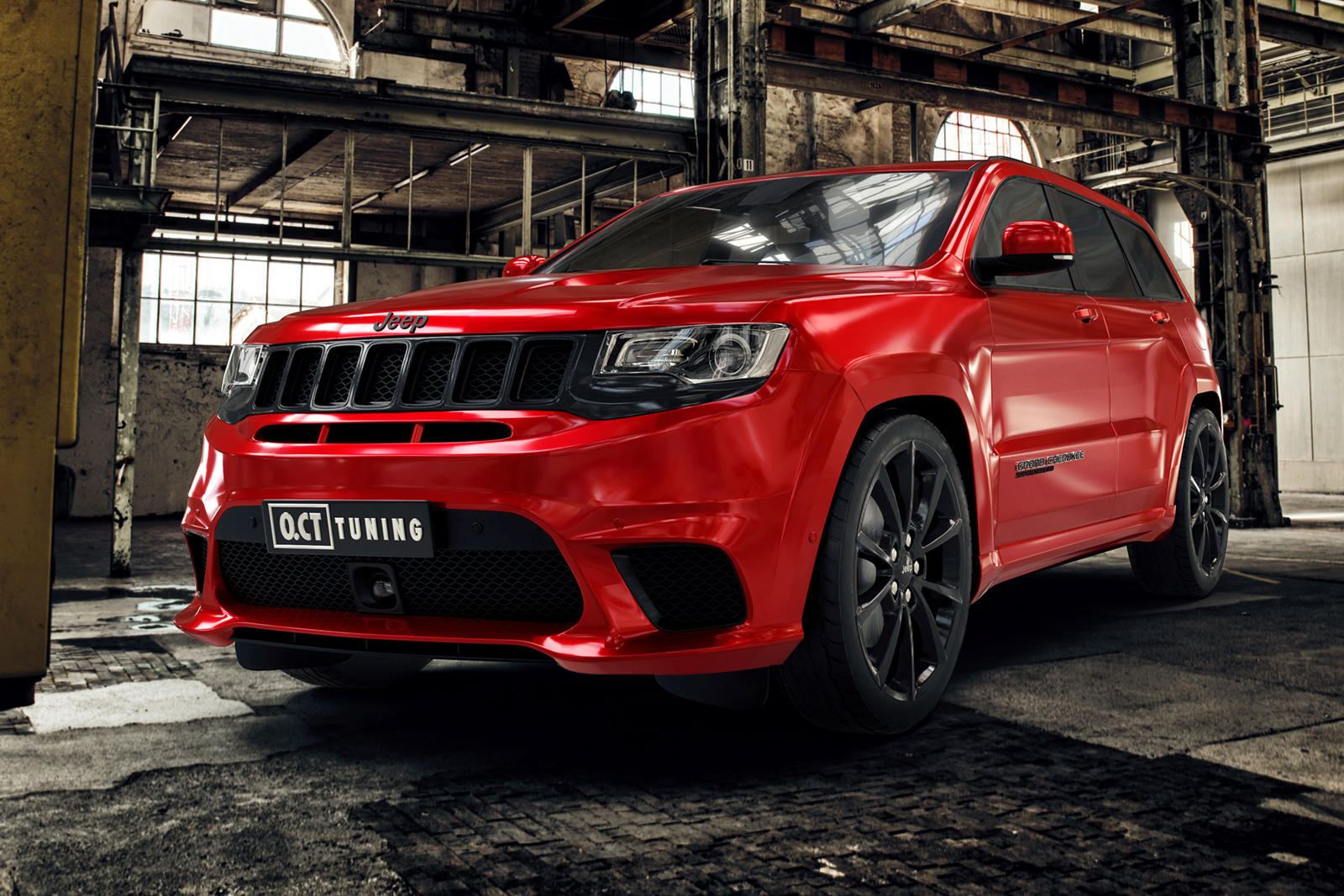 888 Hp Jeep Trackhawk Hellhound Delivers Supercar Performance Carbuzz