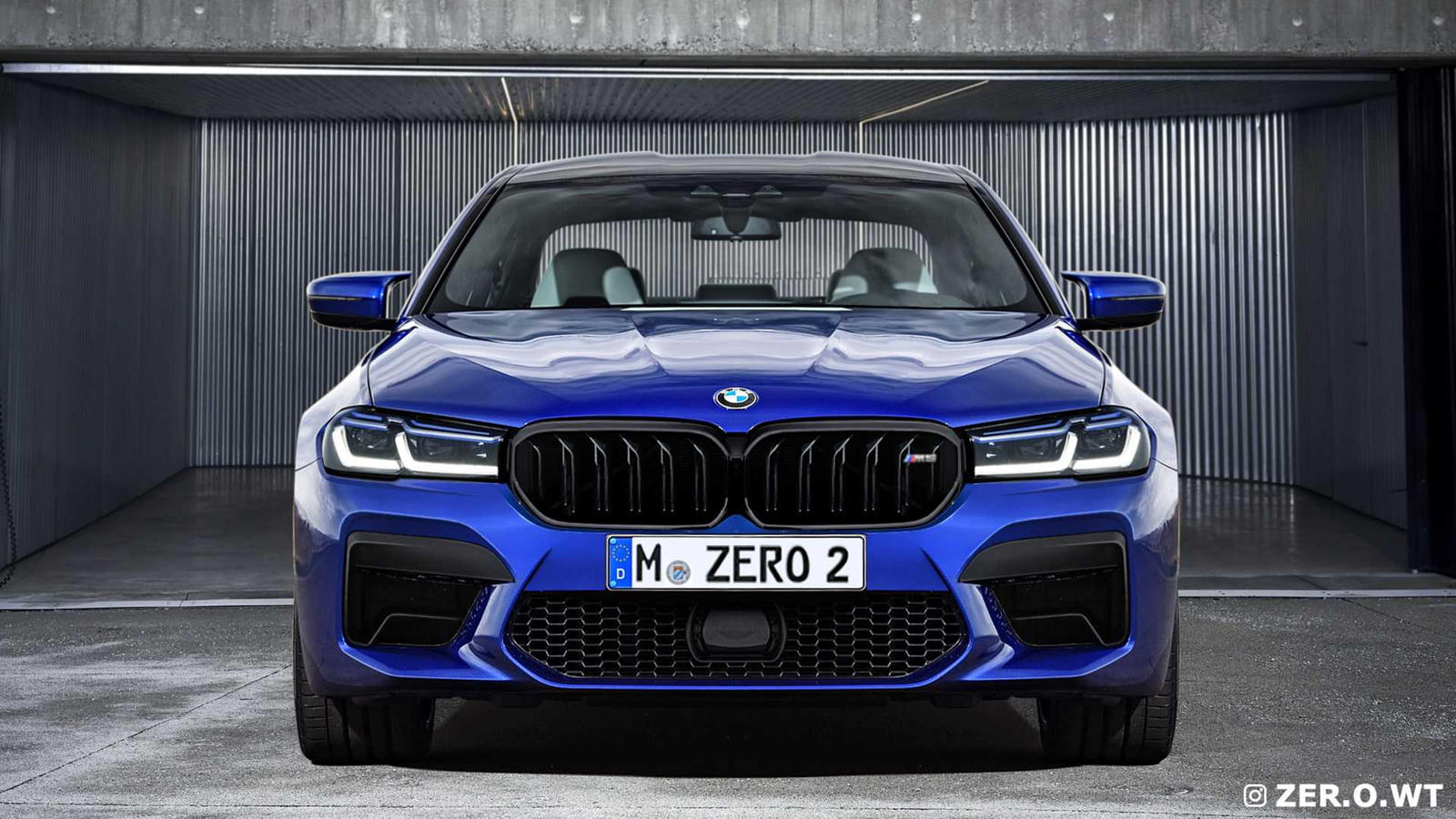 2021 Bmw M5 Facelift Best Look Yet At New Super Sedan Carbuzz