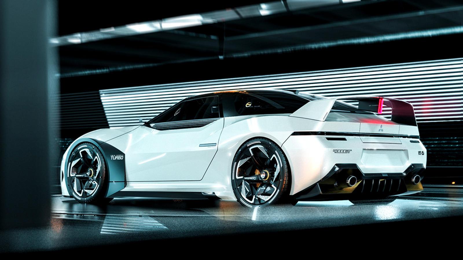 Redesign 2021 Mitsubishi Vr4