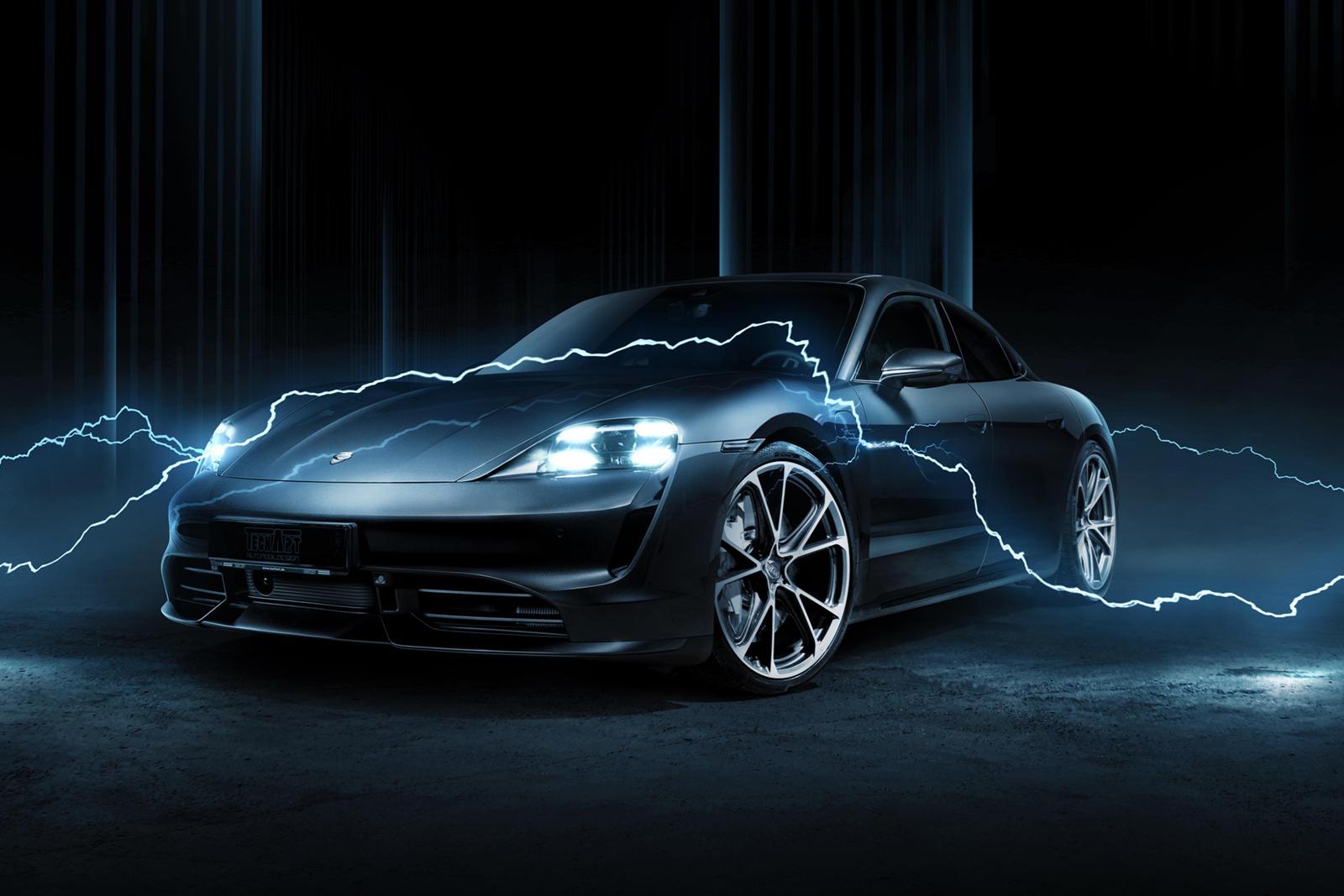 Techart Has Big Plans For The Porsche Taycan Carbuzz