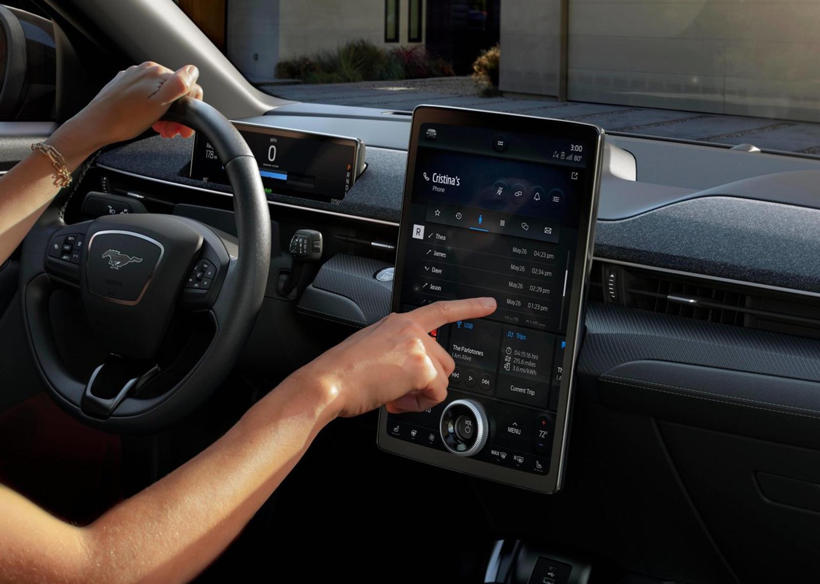 New Ford Mustang Mach-E Tech To Rival Tesla Autopilot -