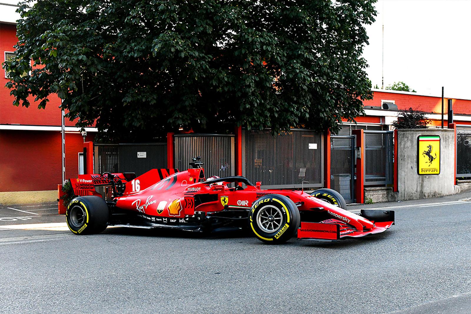 Charles Leclerc Takes Joyride Through Maranello In Ferrari F1 Car Carbuzz