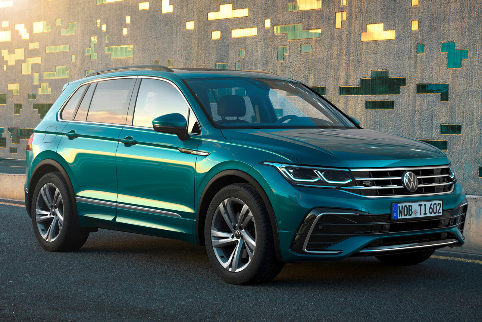 5 Volkswagen Tiguan Gets A Fresh Face And New Tech  CarBuzz