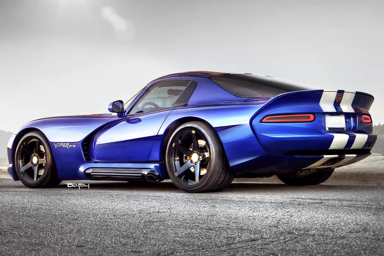 Dodge Viper Gts Redesigned For 2020 Carbuzz