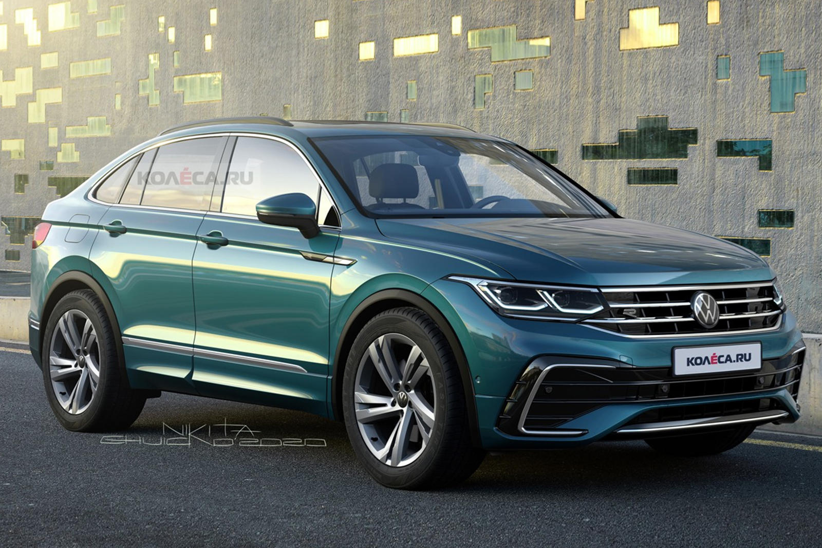 Volkswagen Tiguan X Will Be A Stylish Coupe Suv Carbuzz