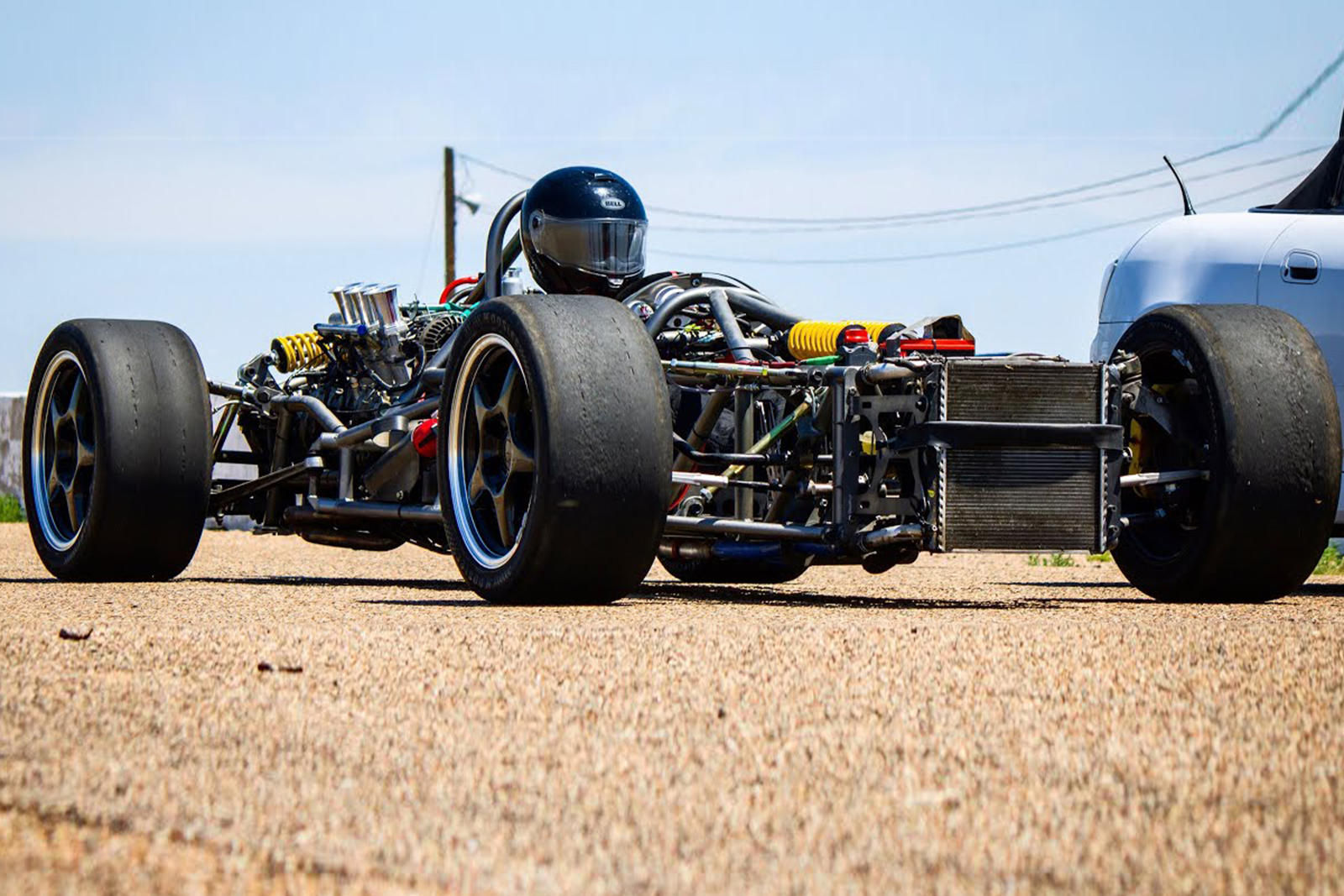 Someone Turned A Porsche Boxster Into A 1960s F1 Car Carbuzz