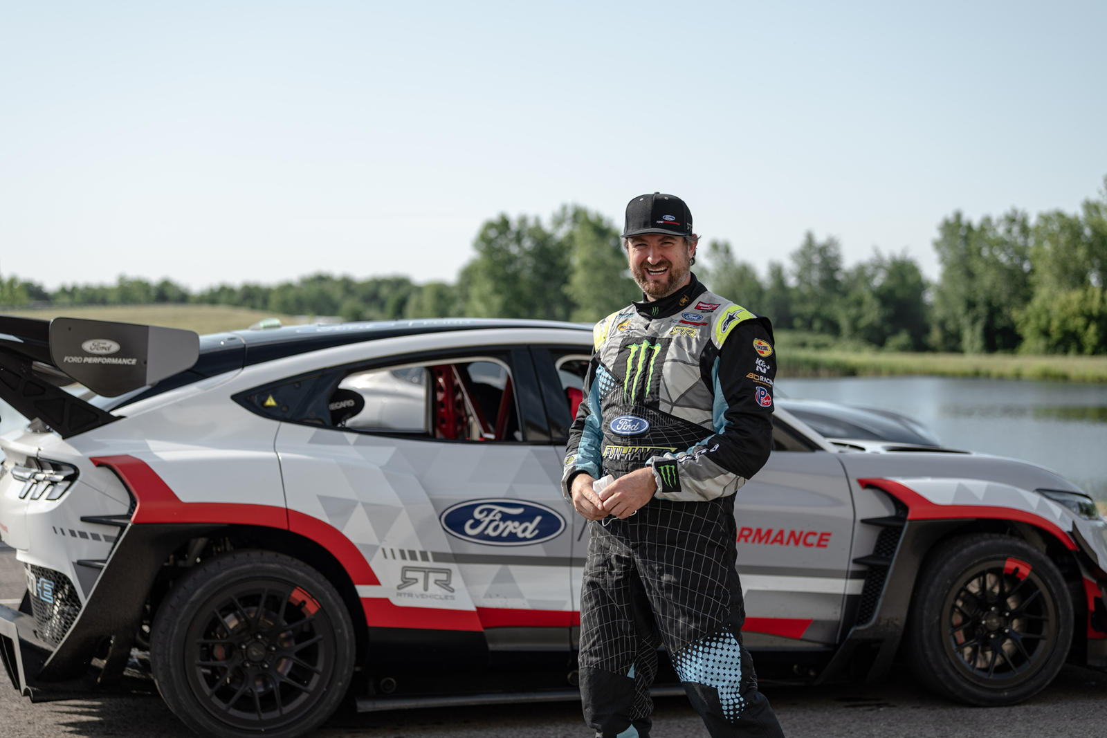vaughn gittin jr tells us the mustang mach e 1400 is the greatest thing he s ever built carbuzz vaughn gittin jr tells us the mustang