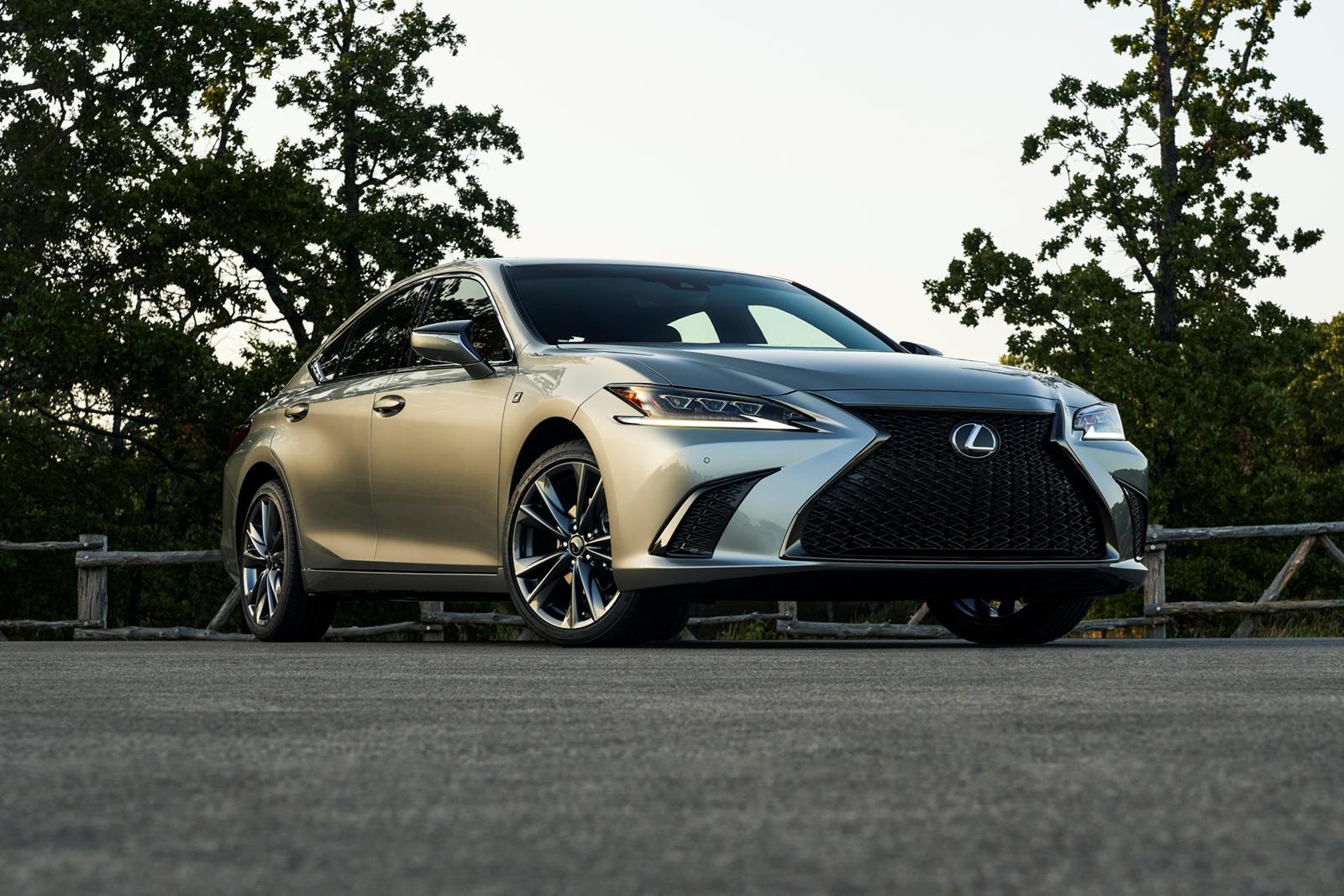 2021 Lexus ES 350 Ratings