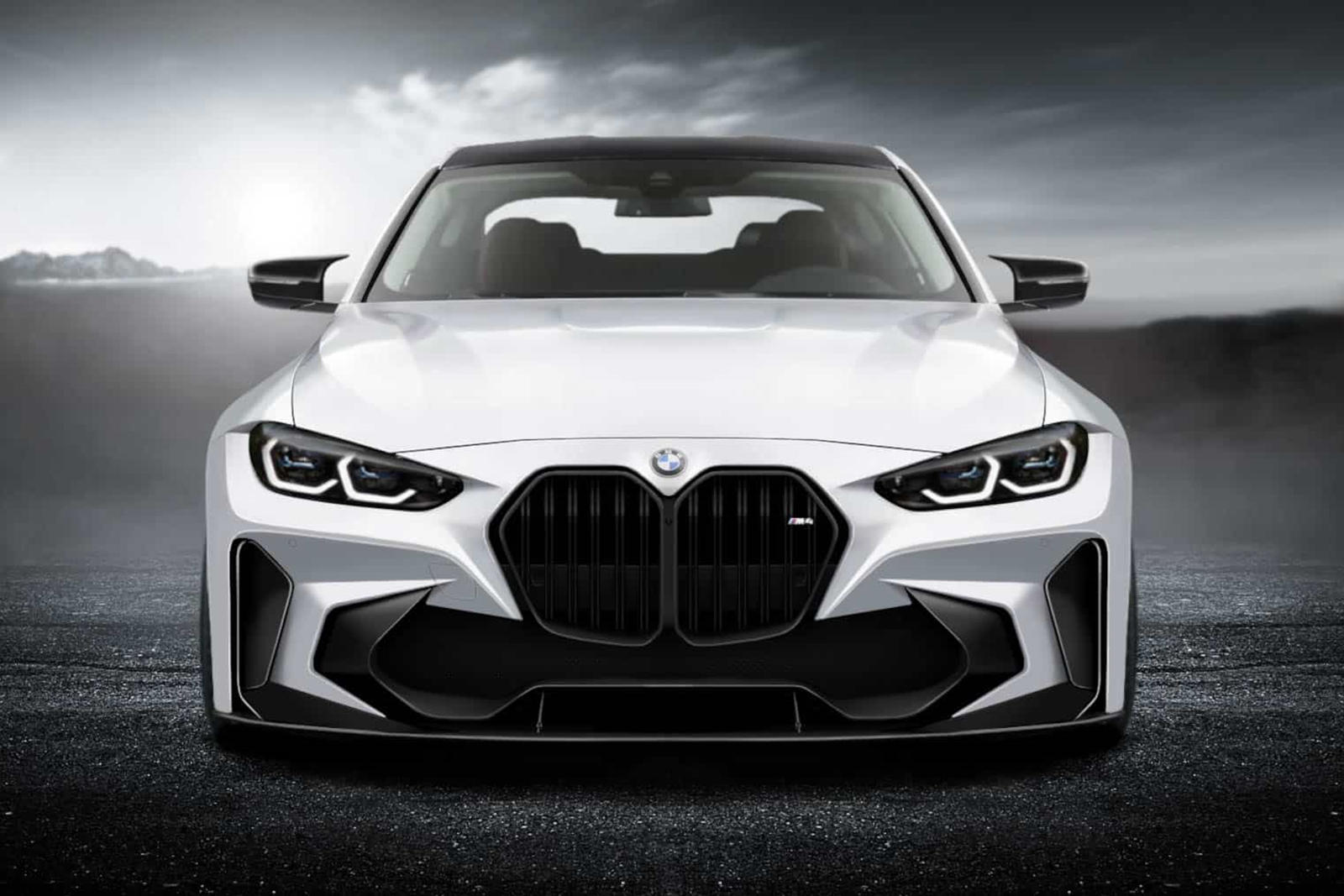 Someone Has Already Tried To Redesign The 2021 Bmw M4 Carbuzz