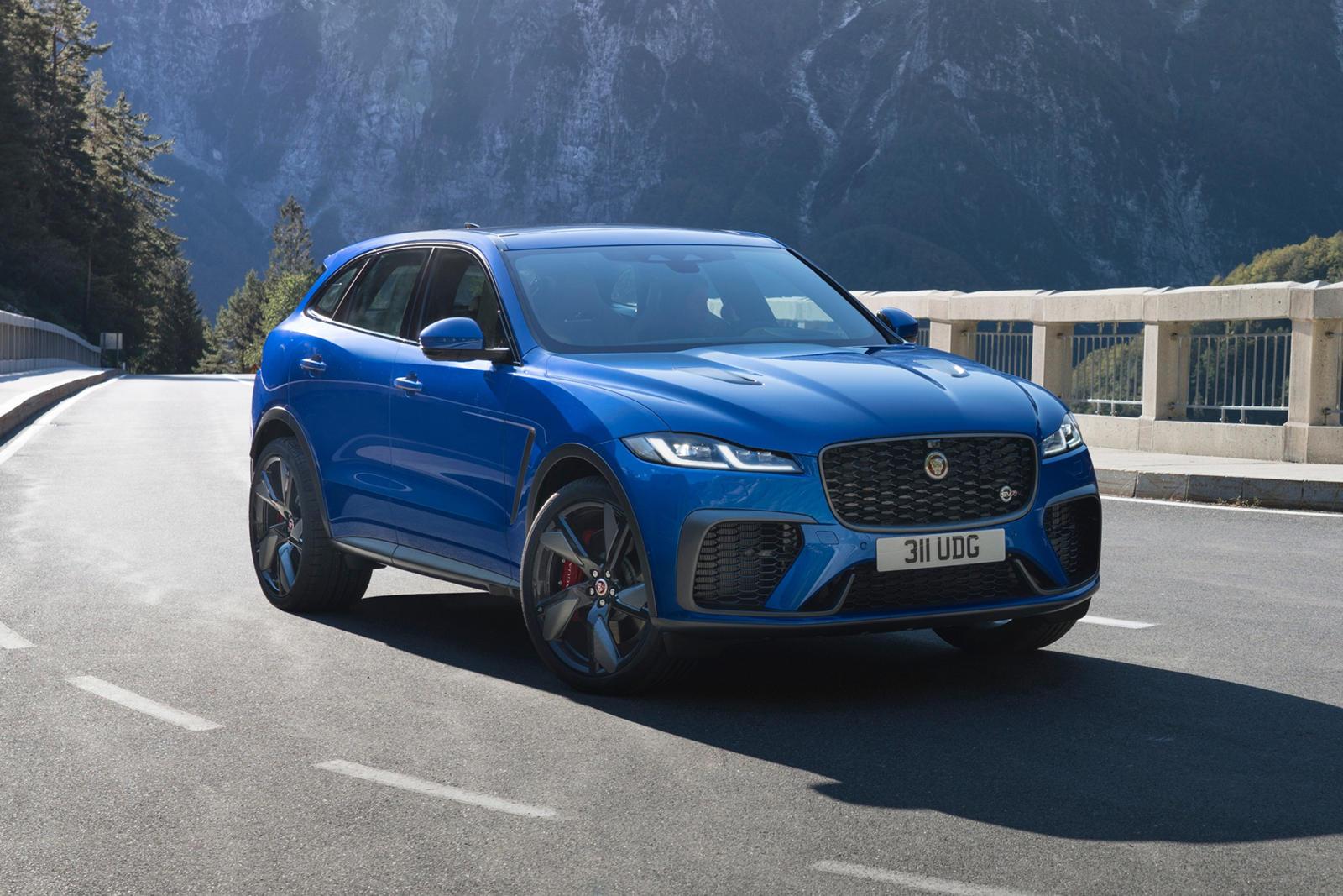 2021 jaguar f-pace svr: review, trims, specs, price, new