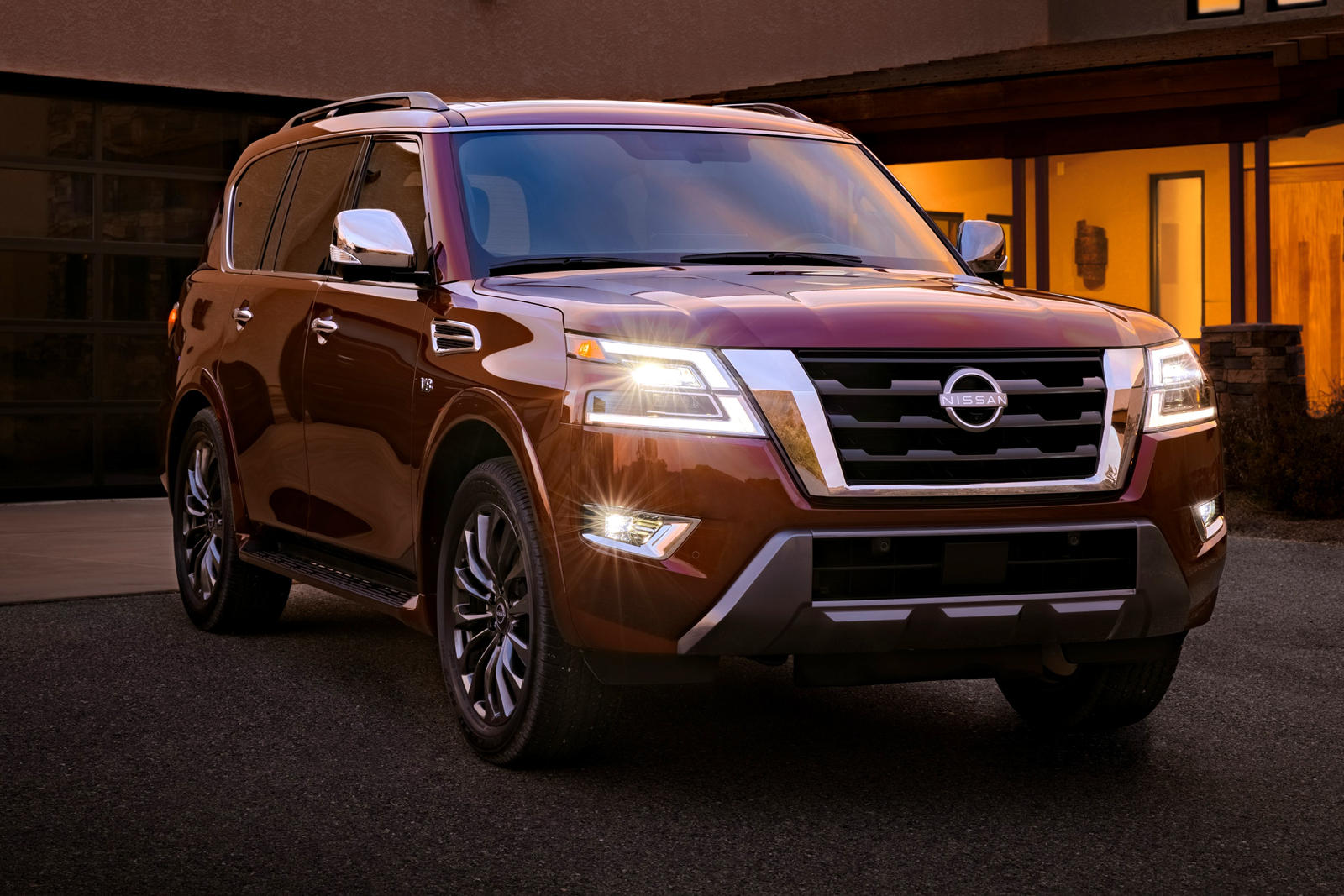 2021 nissan armada sweeps in with more power and sharper