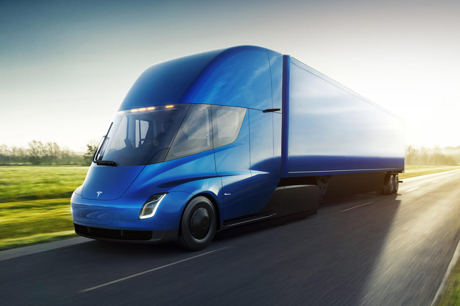Something Is Finally Happening With Tesla's Semi Truck