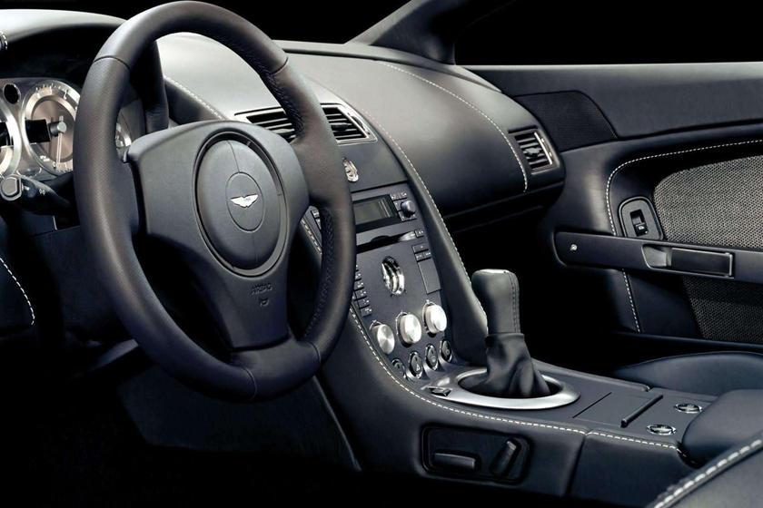 2008 Aston Martin V8 Vantage Coupe Interior Photos Carbuzz