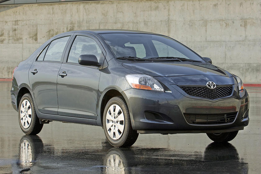 2008 Toyota Yaris Sedan Review Trims Specs Price New Interior Features Exterior Design And Specifications Carbuzz