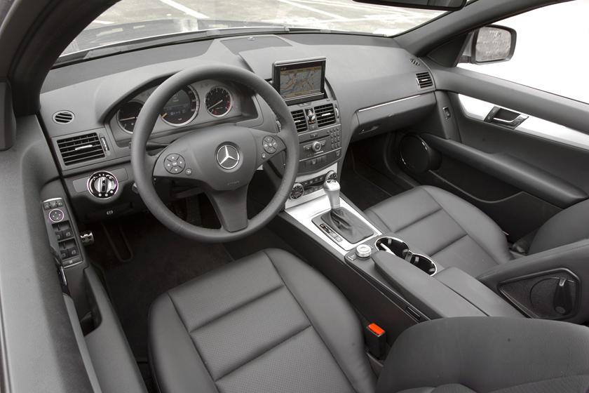2009 Mercedes Benz C Class Sedan Interior Photos Carbuzz