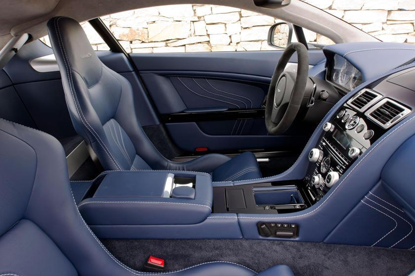 2010 Aston Martin V8 Vantage Coupe Interior Photos Carbuzz
