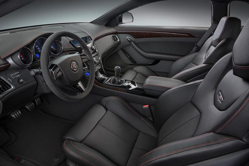 2011 Cadillac Cts V Coupe Interior Photos Carbuzz