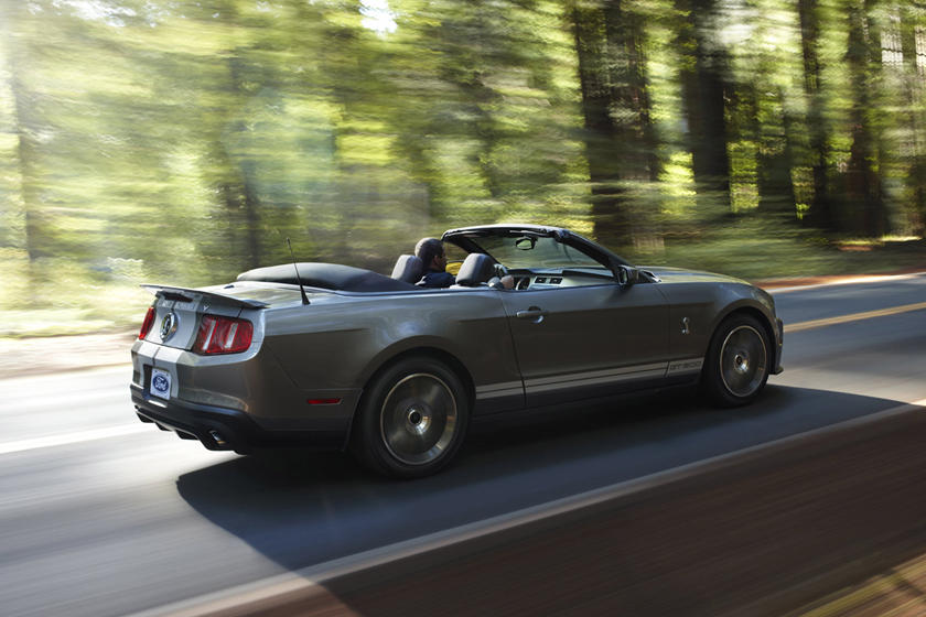 2011 Ford Mustang Shelby GT500 Convertible: Review, Trims ...
