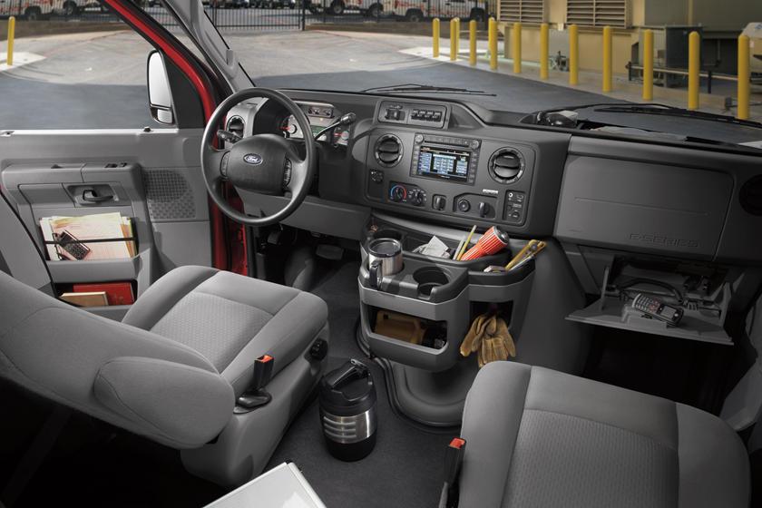 2014 ford econoline cargo van interior photos carbuzz 2014 ford econoline cargo van interior