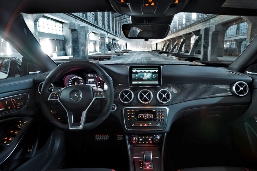 Super 2014 Mercedes Amg Cla 45 Interior Photos Carbuzz Download Free Architecture Designs Scobabritishbridgeorg
