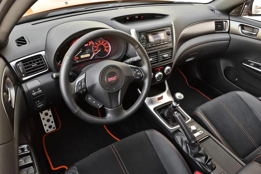 2014 Subaru Impreza Wrx Sti Sedan Interior Photos Carbuzz