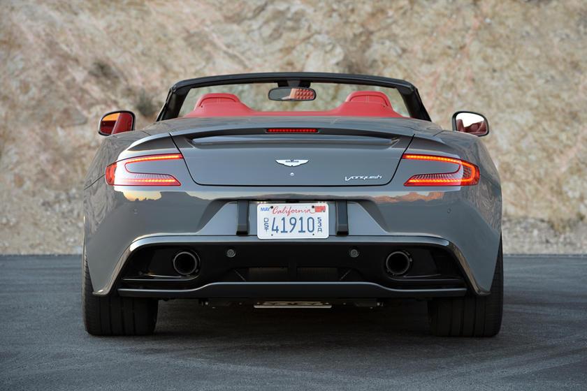 2015 Aston Martin Vanquish Volante Exterior Photos Carbuzz