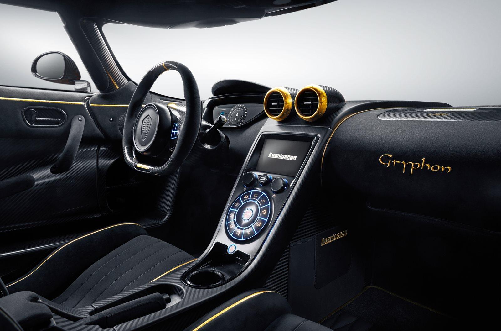 2015 Koenigsegg Agera RS Dashboard
