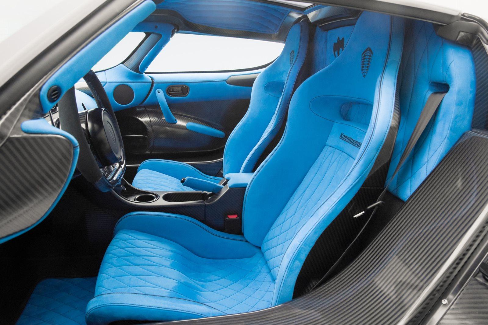 2015 Koenigsegg Agera RS Driver Seat