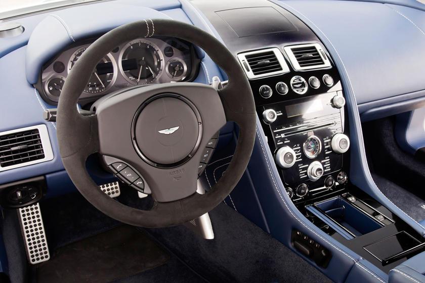 2016 Aston Martin V8 Vantage Coupe Interior Photos Carbuzz
