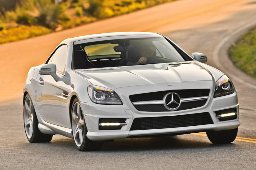 2016 Mercedes Benz Slk Class Review Trims Specs Price New Interior Features Exterior Design And Specifications Carbuzz