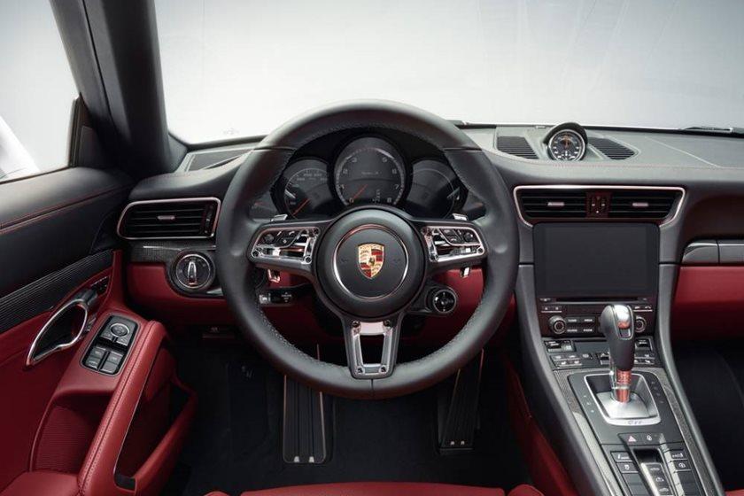 2016 Porsche 911 Turbo Cabriolet Interior Photos Carbuzz