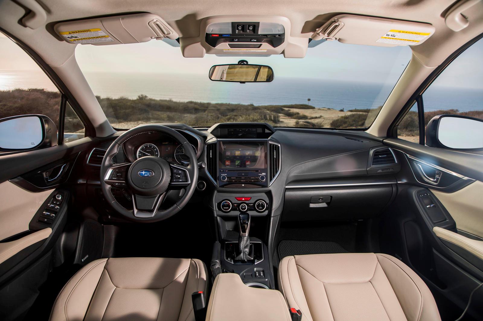 2017-2020 Subaru Impreza Sedan Dashboard