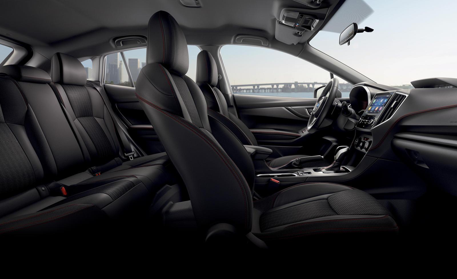 2017-2020 Subaru Impreza Sedan Interior Overview