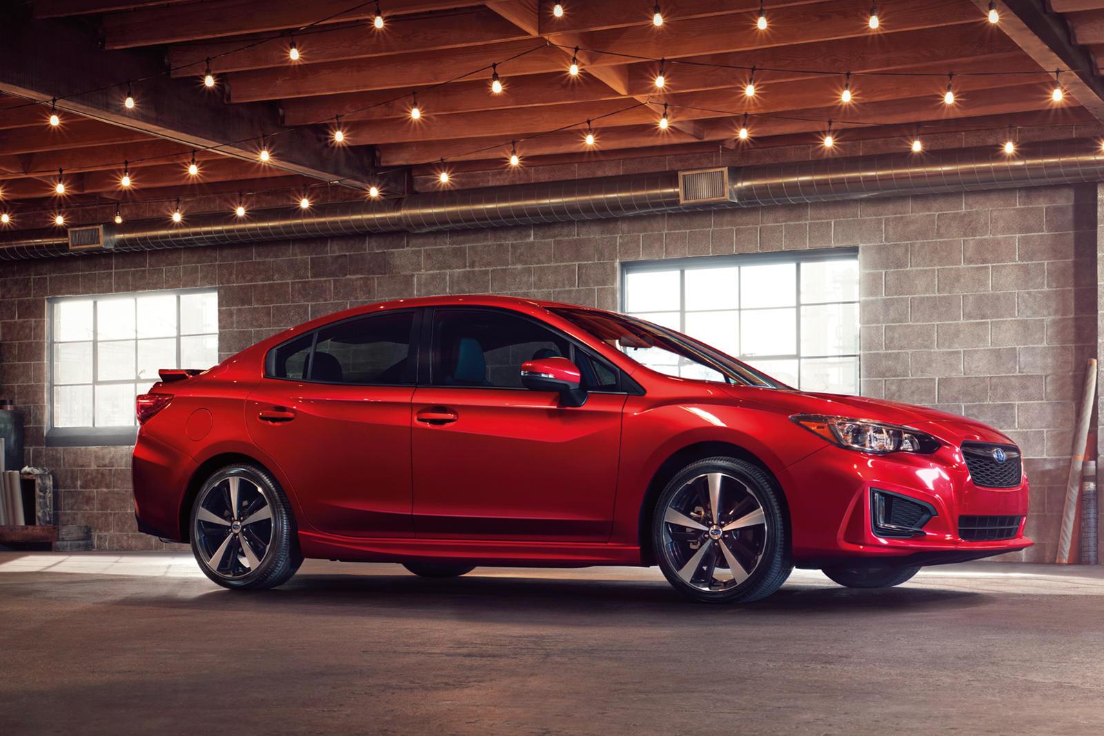 2017-2020 Subaru Impreza Sedan Side View