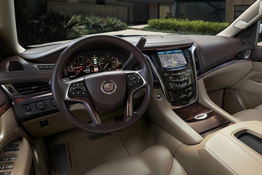 2017 Escalade Interior >> 2017 Cadillac Escalade Interior Photos Carbuzz