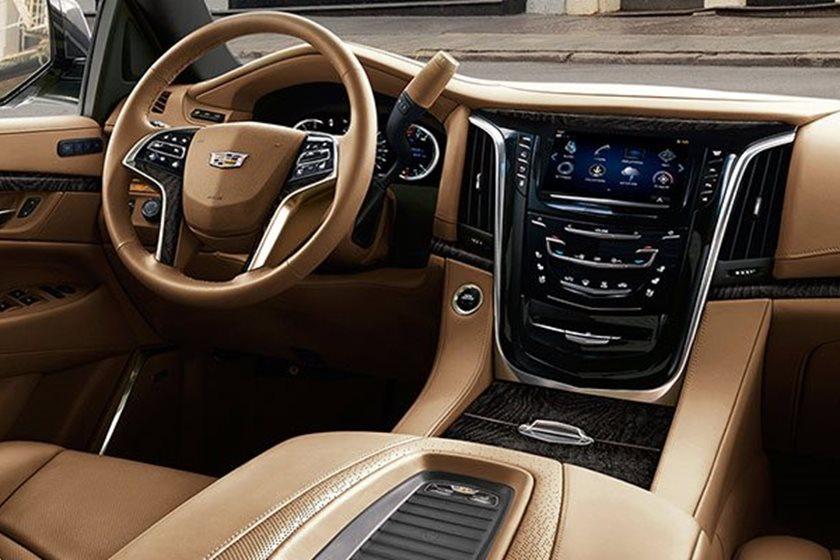 2017 Escalade Interior >> 2017 Cadillac Escalade Esv Interior Photos Carbuzz