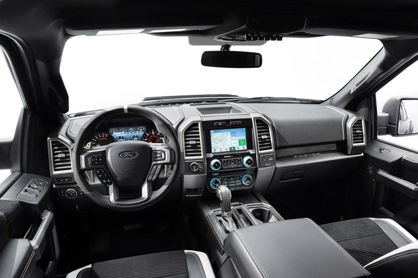 2017 Ford F 150 Interior >> 2017 Ford F 150 Raptor Interior Photos Carbuzz