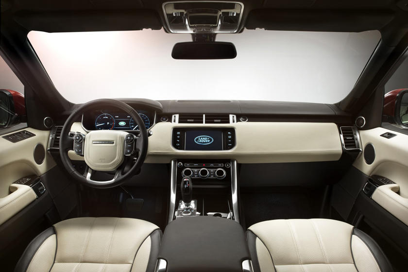 2017 Land Rover Range Rover Sport Interior Photos Carbuzz