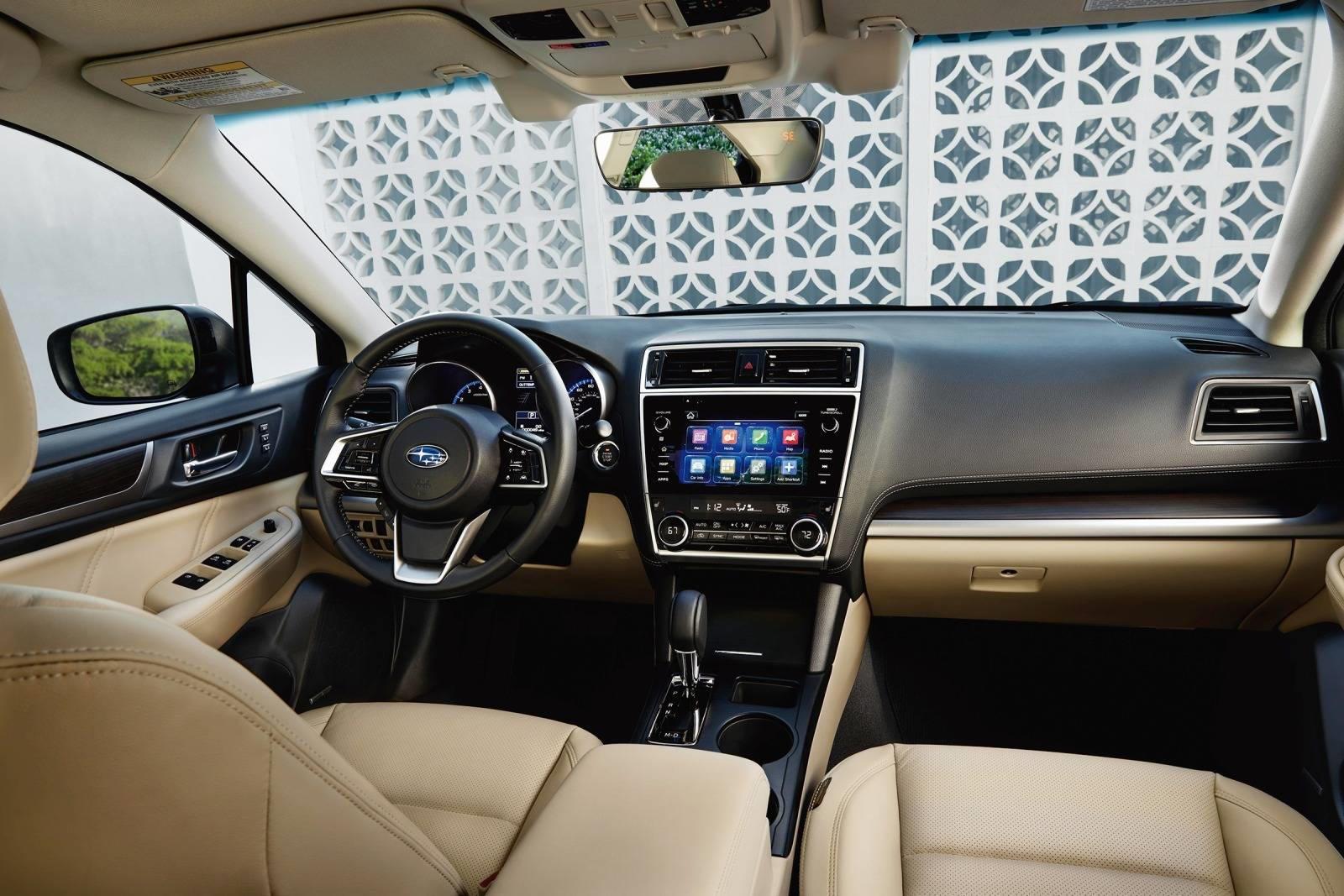 2018-2020 Subaru Legacy Dashboard