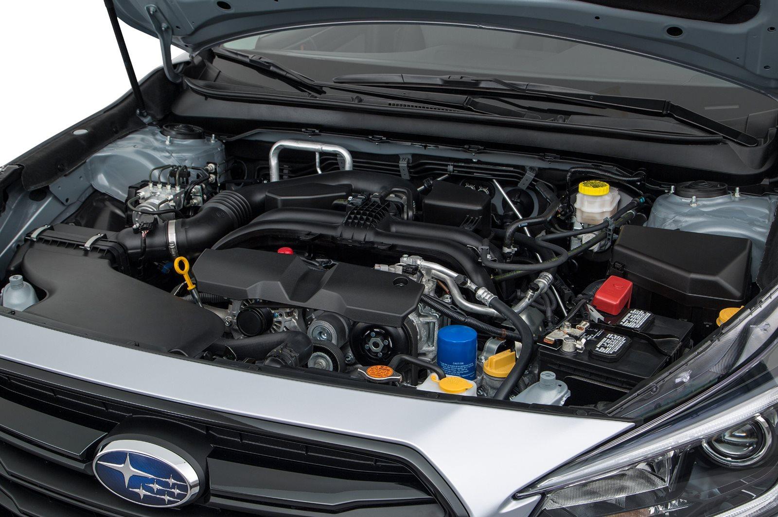 2018-2020 Subaru Legacy Engine Bay