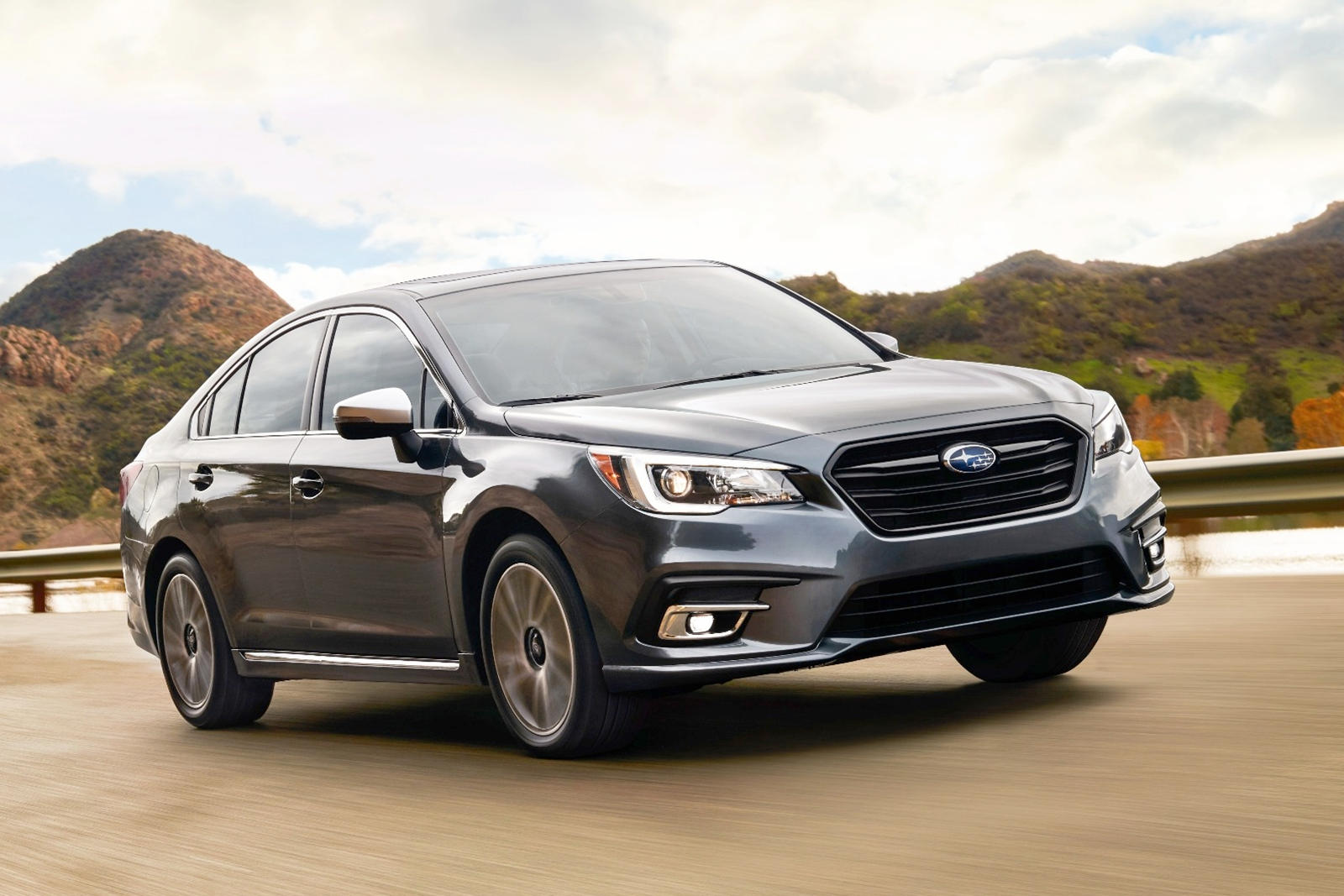 2018-2020 Subaru Legacy Front View Driving