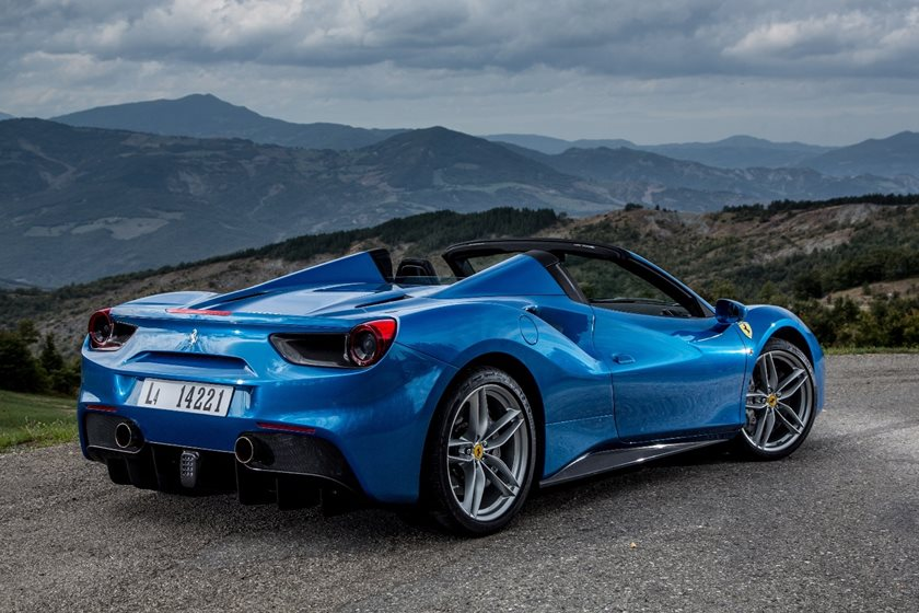 2018 Ferrari 488 Spider Review Trims Specs And Price Carbuzz